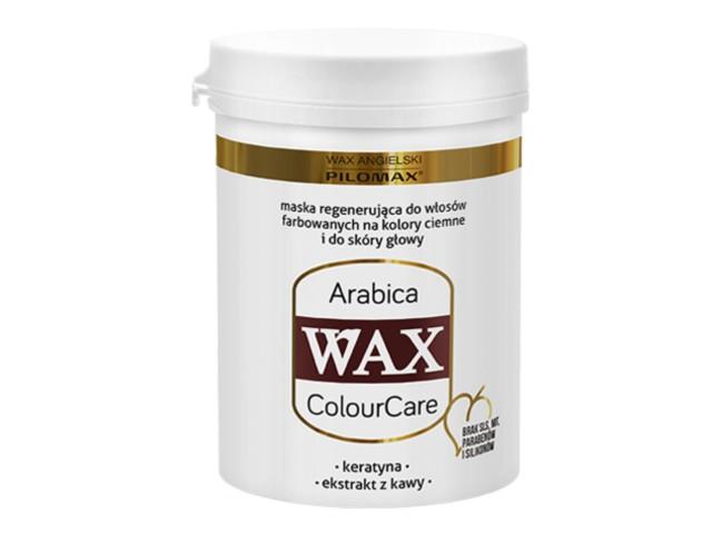 WAX ang Pilomax Maska Arabica wł.ciemne farb. ColourCare interakcje ulotka   240 ml