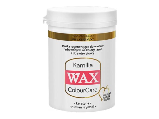WAX ang Pilomax Maska Kamilla wł.jasne farb.ColourCare interakcje ulotka   240 ml