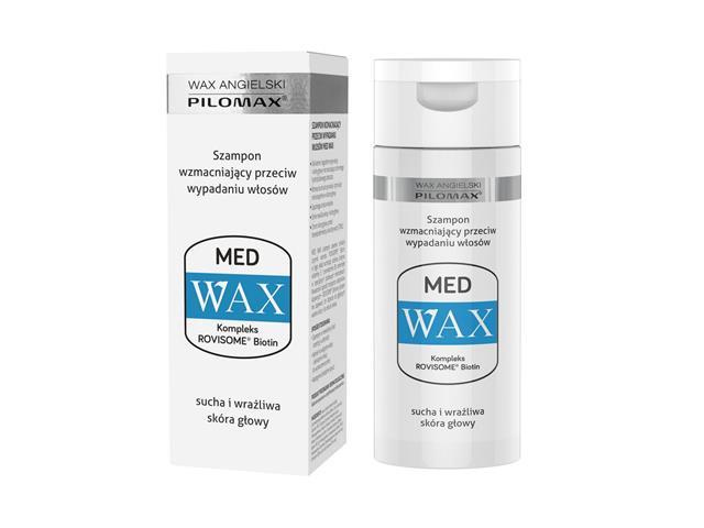 WAX ang Pilomax MED Szampon wzmacniający przeciw wypadaniu włosów interakcje ulotka szampon  150 ml