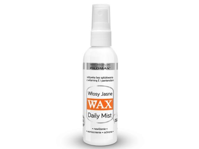 WAX ang Pilomax Odżywka Spray wł.jasne DailyMist interakcje ulotka   100 ml