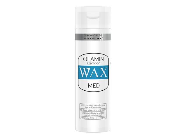 WAX ang Pilomax Szampon przeciwłupieżowy Olamin interakcje ulotka   200 ml