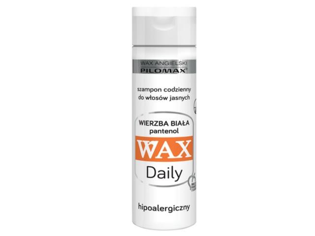 WAX ang Pilomax Szampon wł.jasne Daily interakcje ulotka   200 ml