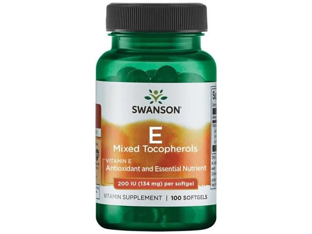 Witamina E 200IU (mieszanka tokoferoli) interakcje ulotka kapsułki  100 kaps.