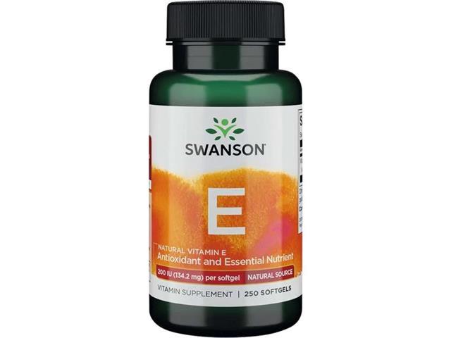 Witamina E 200IU (naturalna) interakcje ulotka kapsułki 200 j.m. 250 kaps.