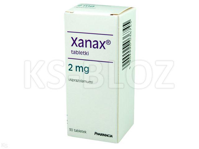 Xanax interakcje ulotka tabletki 2 mg 30 tabl. | blistry