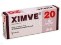 Ximve interakcje ulotka tabletki powlekane 0,02 g 30 tabl.