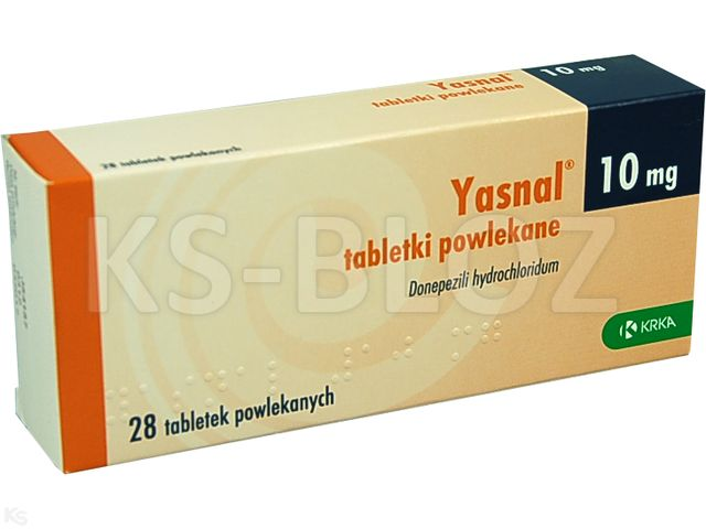 Yasnal interakcje ulotka tabletki powlekane 0,01 g 28 tabl. | 4 blist.po 7 szt.