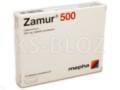 Zamur 500 interakcje ulotka tabletki powlekane 0,5 g 10 tabl.