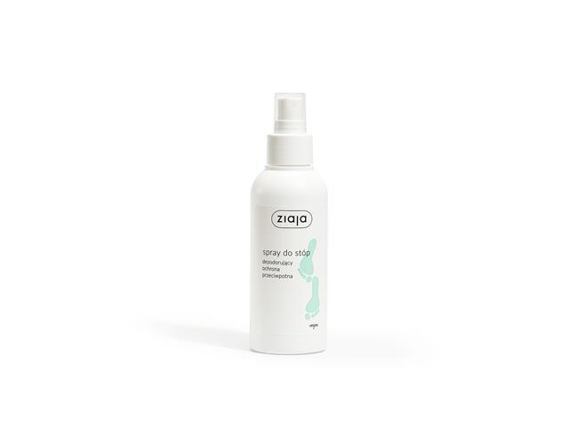 ZIAJA STOPY Spray d/stóp ochrona p/grzybicza interakcje ulotka   100 ml