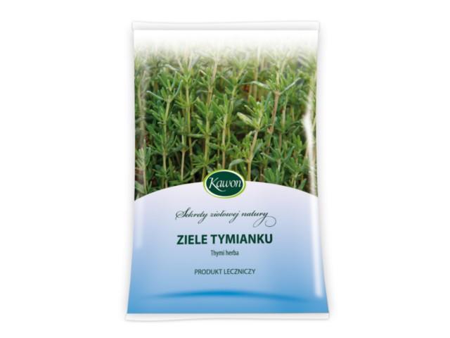 Ziele Tymianku interakcje ulotka zioła do zaparzania  50 g