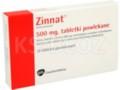 Zinnat interakcje ulotka tabletki powlekane 0,5 g 10 tabl.