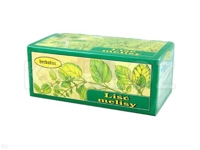 Zioł.fix Liść Mięty pieprzowej interakcje ulotka zioła do zaparzania w saszetkach 1,5 g 30 toreb.