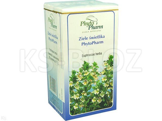 Zioł.fix Świetlik Phytopharm interakcje ulotka zioła do zaparzania w saszetkach 2 g 20 toreb.