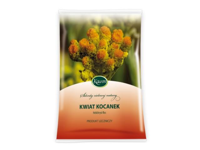 Zioł.Kwiatostan Kocanek interakcje ulotka zioła do zaparzania  25 g