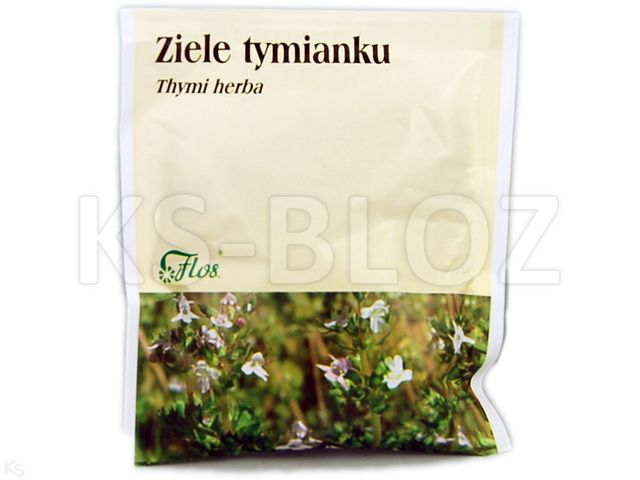 Zioł.Ziele Tymianku interakcje ulotka zioła do zaparzania  50 g