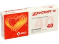 Zocor 40 interakcje ulotka tabletki powlekane 0,04 g 28 tabl.