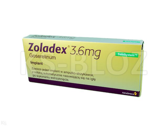 Zoladex interakcje ulotka implant podskórny 3,6 mg 1 amp.-strz.