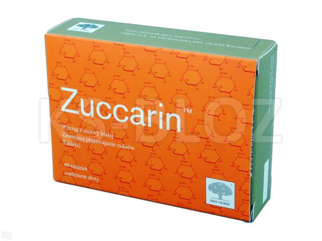 Zuccarin interakcje ulotka tabletki  60 tabl.