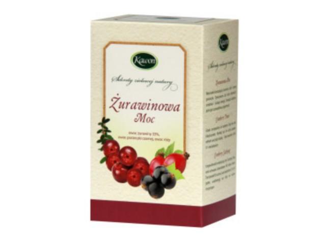 Żurawinowa moc interakcje ulotka herbata 3 g 20 toreb.